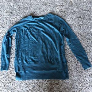 She & Sky blue sweater